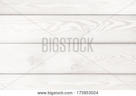 Background of white wooden planks. Bleached oak. Texture