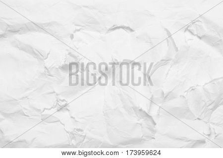 The texture of paper ragged white background