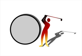 Golf Ball Sign