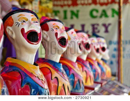 Row Of Clowns