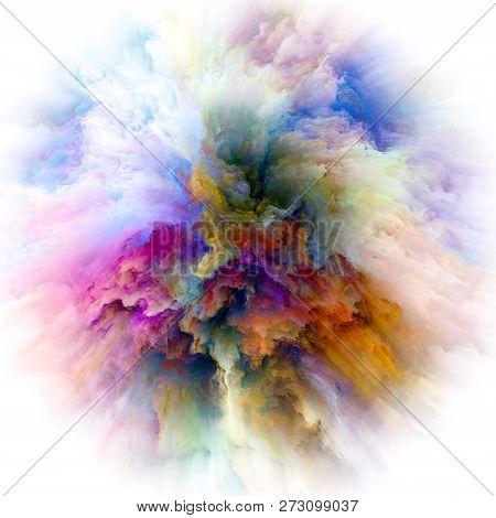 Modern Colorful Paint Splash Explosion