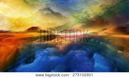 Realms Of Abstract Landscape