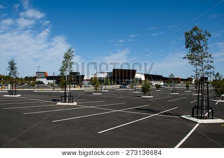 Shopping Mall Parking Lot - Western Australia