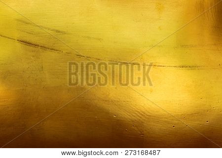Abstract Pattern Texture, Gold, Smooth Surface For The Background