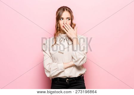 Serious Unhappy Female Has Appealing Appearance, Being Sad After Quarrel With Close Person, Frowns F