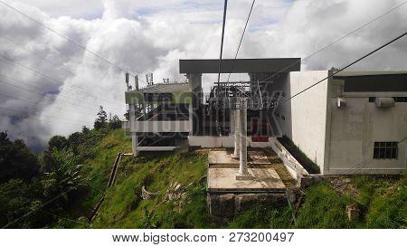 Genting Highlands, Malaysia- Dec 03, 2018: Awana Skyway At Genting Highlands, Malaysia. The Awana Sk