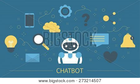 Talking To A Chatbot Online On Smartphone