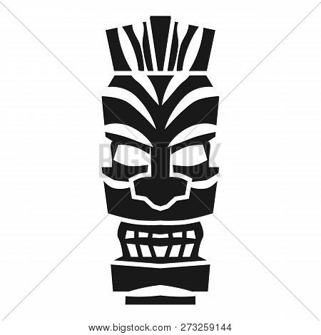 Tribal Mystery Idol Icon. Simple Illustration Of Tribal Mystery Idol Vector Icon For Web Design Isol