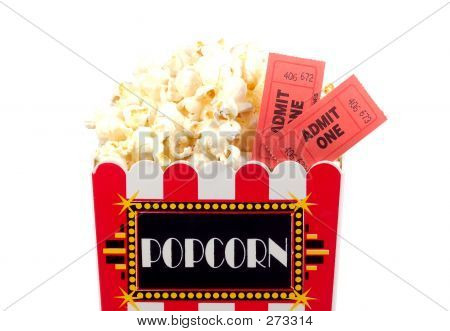 Popcorn And Tickets