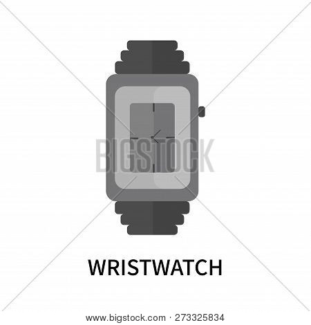 Wristwatch Icon Isolated On White Background. Wristwatch Icon Simple Sign. Wristwatch Icon Trendy An