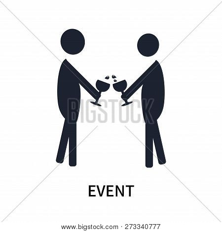 Event Icon Isolated On White Background. Event Icon Simple Sign. Event Icon Trendy And Modern Symbol