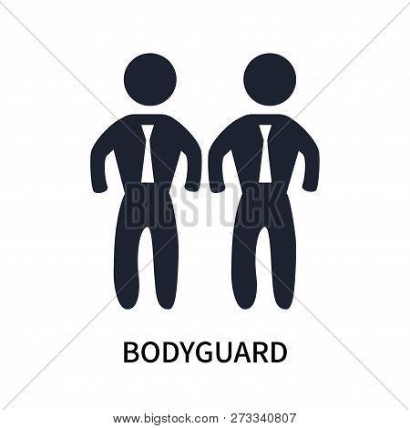 Bodyguard Icon Isolated On White Background. Bodyguard Icon Simple Sign. Bodyguard Icon Trendy And M