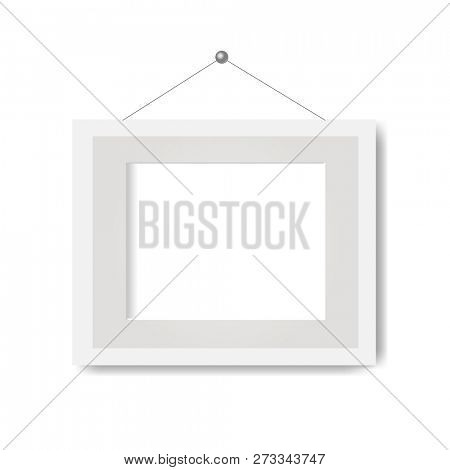 Picture Frame With White Background