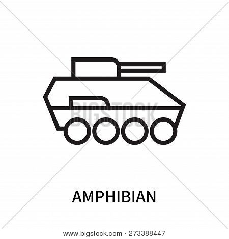 Amphibian Icon Isolated On White Background. Amphibian Icon Simple Sign. Amphibian Icon Trendy And M