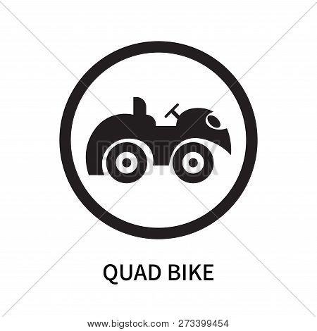 Quad Bike Icon Isolated On White Background. Quad Bike Icon Simple Sign. Quad Bike Icon Trendy And M