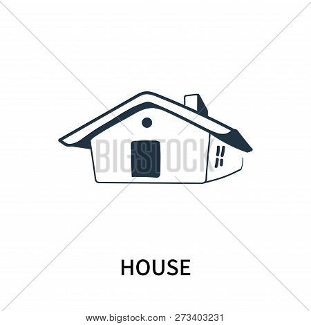 House Icon Isolated On White Background. House Icon Simple Sign. House Icon Trendy And Modern Symbol