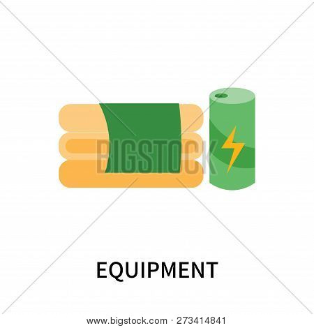 Equipment Icon Isolated On White Background. Equipment Icon Simple Sign. Equipment Icon Trendy And M