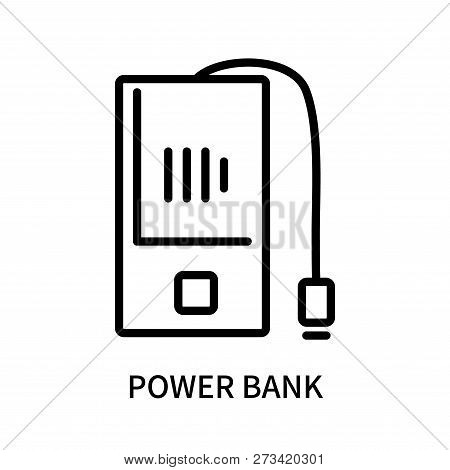 Power Bank Icon Isolated On White Background. Power Bank Icon Simple Sign. Power Bank Icon Trendy An