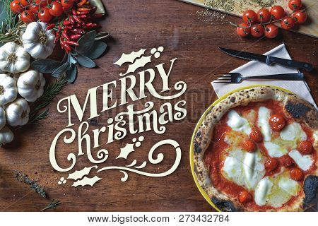 Merry Christmas Pizza