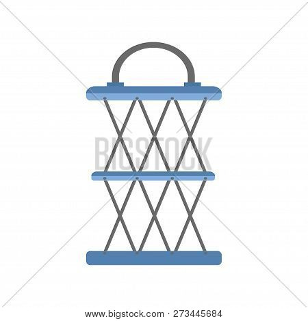 Fishing Net. Fish Trap. Fish. Vector Illustration. Eps 10.