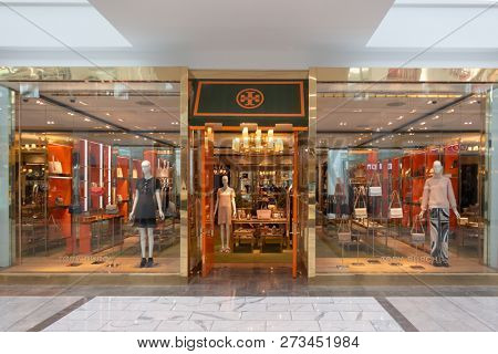 Scottsdale, Az/USA -12.7.18 Tory Burch launched its first retail store in NYC.  in 2004: as of 2018, it has grown to 250 stores world wide & a fashion line carried at over 3,000 stores world wide.