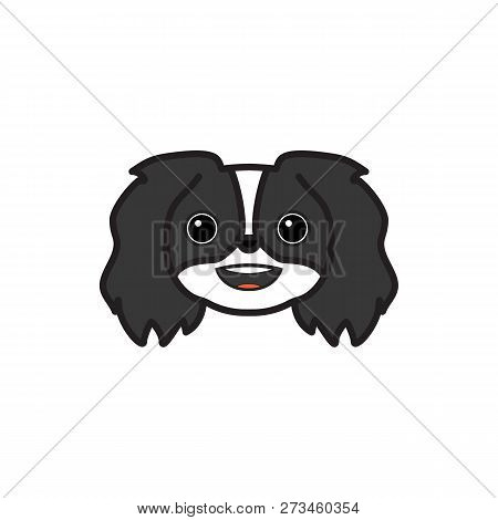 Pekingese, Emoji, Grinning Multicolored Icon. Signs And Symbols Icon Can Be Used For Web, Logo, Mobi