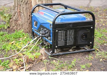 Portable Generator For Repair After  Hurricane Damage. Portable Diesel Generator For House.