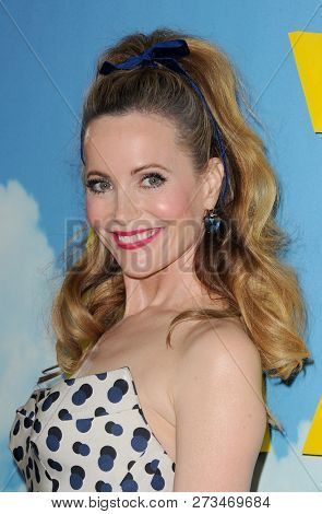 Leslie Mann at the Los Angeles premiere of 'Welcome To Marwen' held at the ArcLight Cinemas in Hollywood, USA on December 10, 2018.