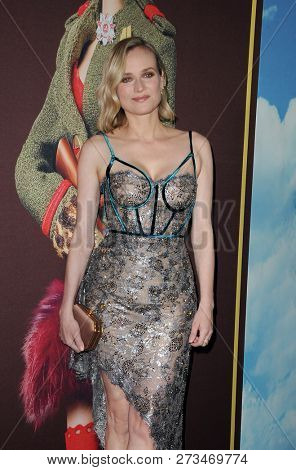 Diane Kruger at the Los Angeles premiere of 'Welcome To Marwen' held at the ArcLight Cinemas in Hollywood, USA on December 10, 2018.