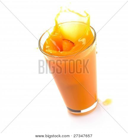 Peach Juice Splash