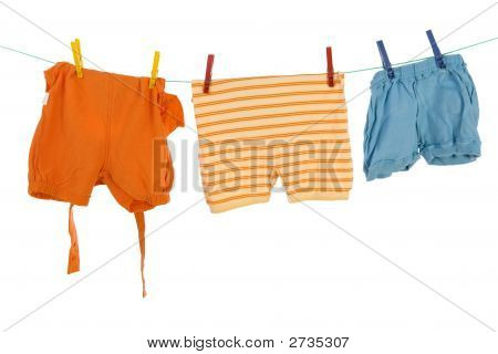 Drying Baby Clothes