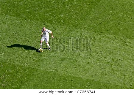 Pepe Playing Ball