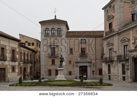 Madrid's Plaza De La Villa