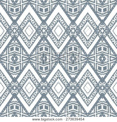 A Retro Silver Zigzag Chevron Vector Background.