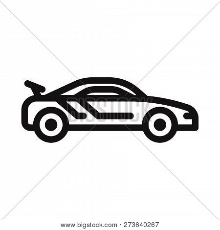 Sport Car Icon Isolated On White Background. Sport Car Icon In Trendy Design Style. Sport Car Vector
