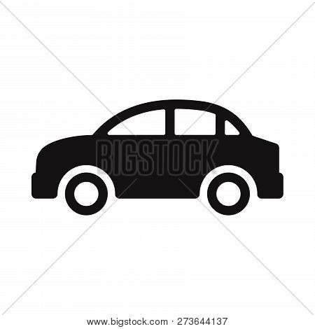 Car Icon Isolated On White Background. Car Icon In Trendy Design Style. Car Vector Icon Modern And S
