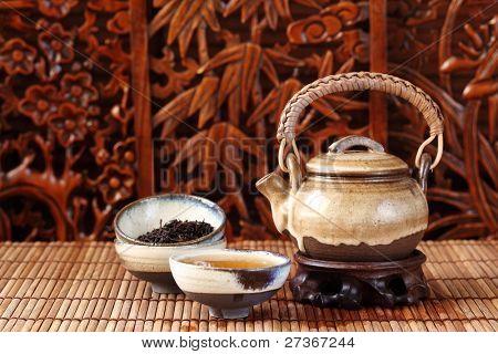 china tea serving
