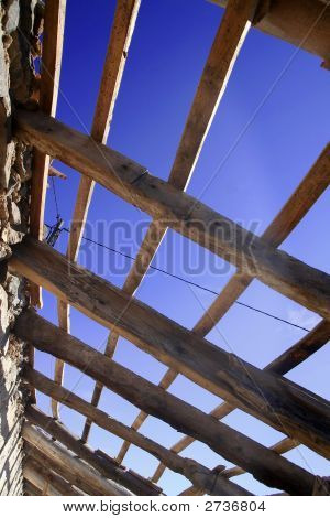 Open Roof Under Blue Sky