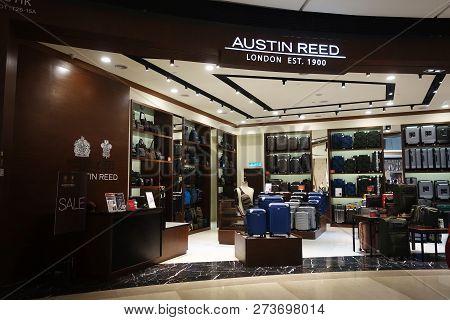 Genting Highlands, Malaysia- Dec 03, 2018 : Austin Reed Boutique At Genting Highlands, Malaysia. The
