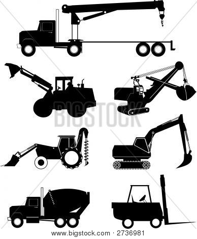 Industry_Vehicle_Silhouette.Eps