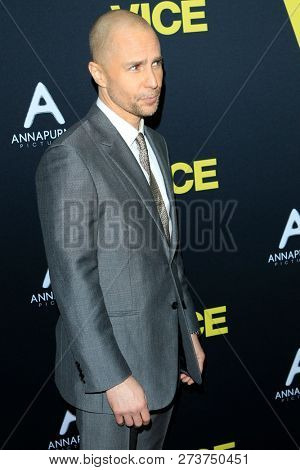 LOS ANGELES - DEC 11:  Sam Rockwell at the