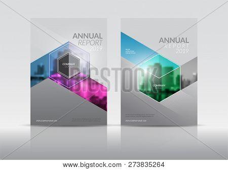 Cover Design Template Vector Photo Free Trial Bigstock