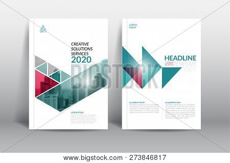 Cover Design Template, Annual Report Cover, Flyer, Presentation, Brochure. Front Page Design Layout