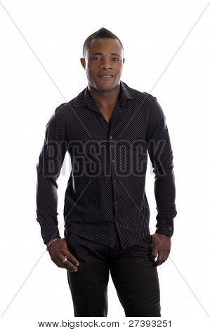 Portrait Of Black Young Man