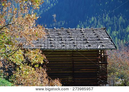 Cottage In The Ultental Valley, South Tyrol, Italy