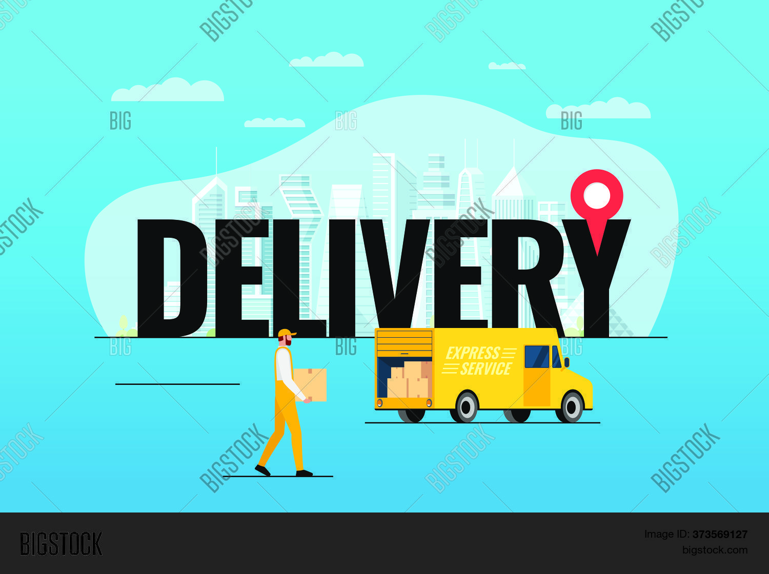 Express Delivery Vector & Photo (Free Trial) | Bigstock