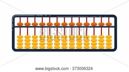 Soroban For Mental Arithmetic. Childrens Education. Abacus