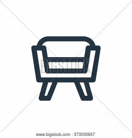 Seat Vector Icon Isolated On White Background.