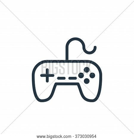 gaming console icon isolated on white background from  collection. gaming console icon trendy and mo