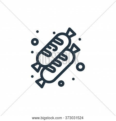 Hotdog Vector Icon Isolated On White Background.
